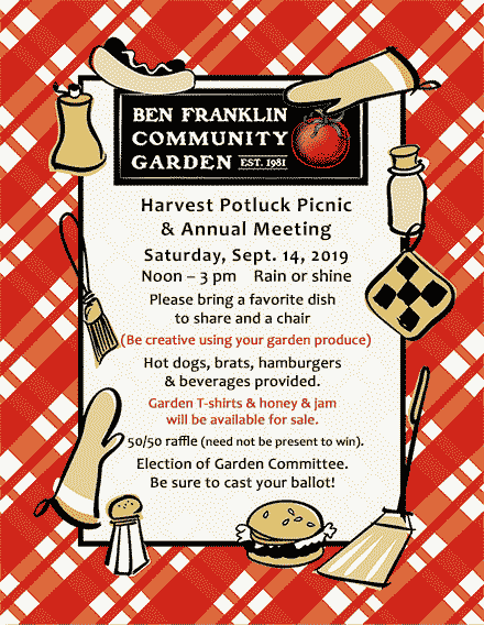 Harvest Picnic & Annual Meeting 9/14